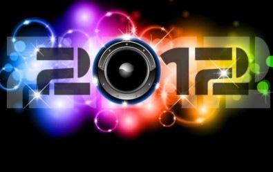 Музыка.  Музыкальный логотип - 2012 (Вектор EPS10) AI Eps 11 Mb.