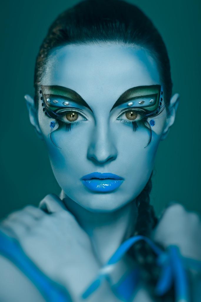 Галерея профессиональных визажистов это дипломная работа моей выпускницы Яны Тимошенко причем здесь она же и модель красила на себе