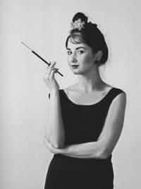 Образ Одри Хепберн 50х годов ХХ века.