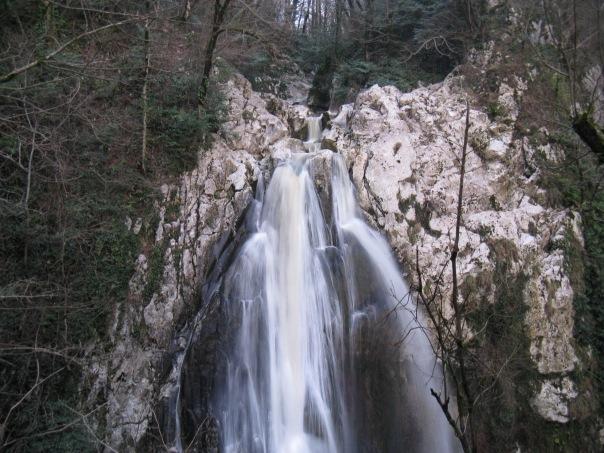 Агурские водопады. Сочи