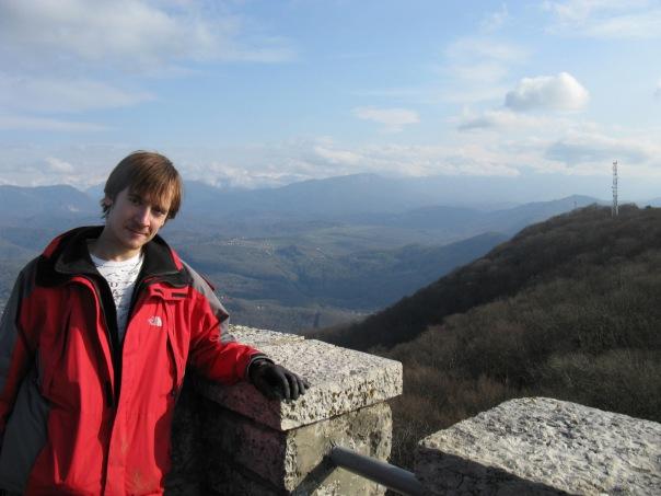 Я на горе Ахун