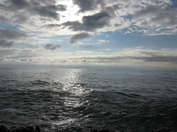 Чёрное море в январе