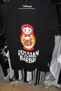 футболка с матрешкой русская барби, футболки на любой вкус.