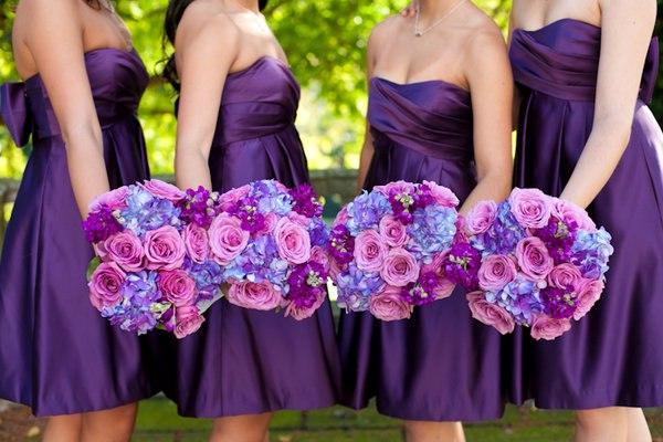 Sweet wedding платья для подружек невесты