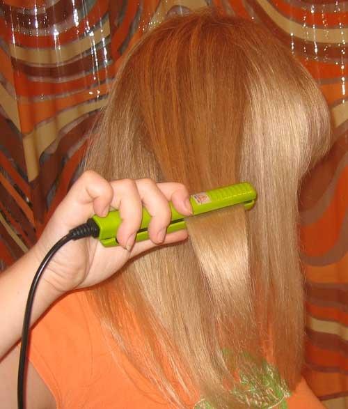 Купить утюжок для волос маленький