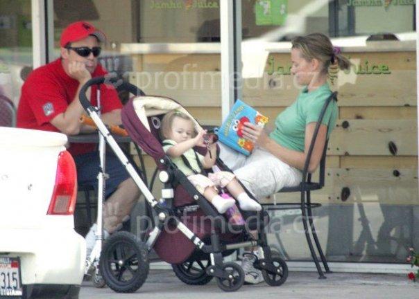 мэтт леблан с дочерью фото