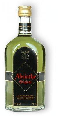 Бутылка Абсентом