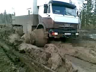 КамАЗ Танки грязи не бояться