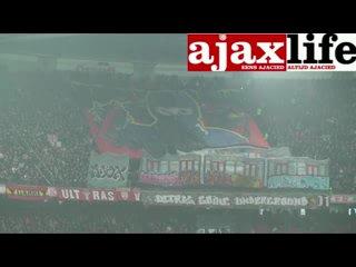 Tifo Ajax - FC Twente (Vak 410)