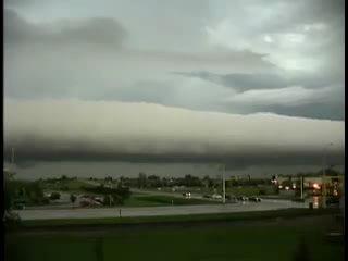 Грозовой вал (Roll cloud)