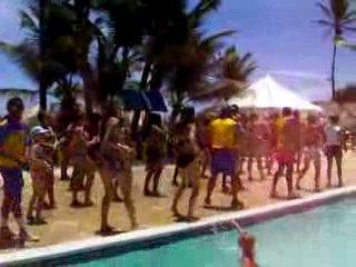 Доминикана отельный танец