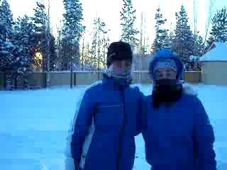 ЕТИ - Снежный человек! Я очевидец=)))
