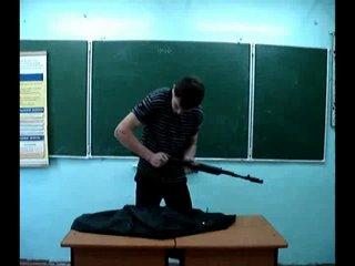 сборка-разборка Ak-74
