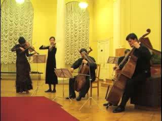 Никола Порпора/Никола Фьоренца(?). Концерт для виолончели, 2-х скрипок и basso continuo a-moll - IV. Allegro