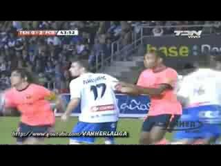 [Обзор] Тенерифе - Барселона (0-5) (Разгром Барсы, хет-трик Месси)
