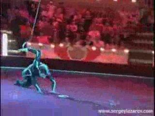 Воздушная гимнастика и парная силовая акробатика, что может быть круче!?