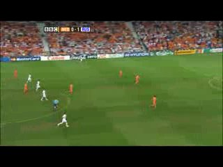 Голландия - Россия - 1:3 (трансляция BBC)