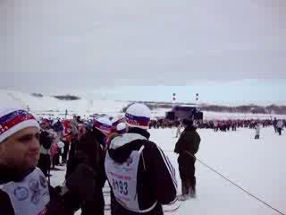 лыжня россии 2010! Было круто! 20000 тысяч человек