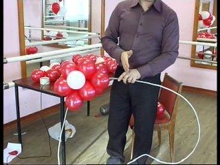 Пошаговая инструкция сердце из шаров своими руками