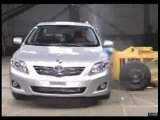 Toyota Corolla (2007 model) Crash Test Video