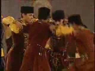 Азербайджанский танец и музыка.Перед выступлением кандидатов на конкурс