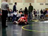 Wrestling match against kingsway. 130lbs.