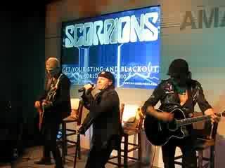 Scorpions in Argentina, Hotel Llao Llao 2010