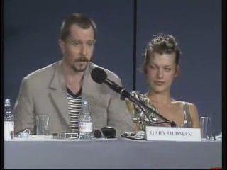Milla Jovovich & Gary Oldmen