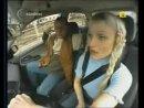 Осторожно!! Блондинка за рулем