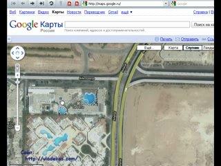 Используем спутниковые онлайн карты