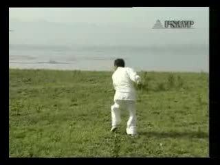 太極螳螂拳 Тайцзи Танлан Цюань / 三路摘要拳 3.Чжай Яо