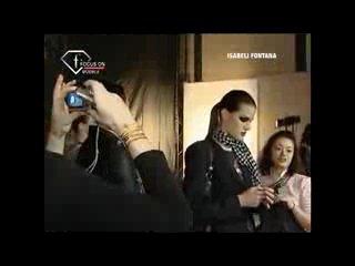 Fashion TV- MODEL ISABELI FONTANA First Face Talks FW 08-09