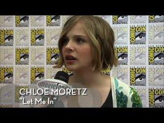 Интервью Хлои на Comic-Con 2010 ч. 2