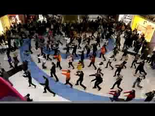 Флешмоб в Метрополитене. Москва
