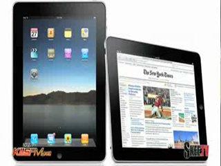 Рианна на радио 102.7 KIIS FM говорит о Apple iPad