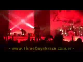 THREE DAYS GRACE ON TOUR (( www.ThreeDaysGrace.com.ar ))