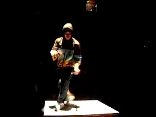 Moon Patrol Toprock Performance for PICA Art Festival