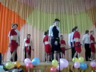 Танець в ПТУ Л НТУN%10 ча-ча-ча групи 34,32,коледж другий курс))))))