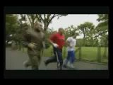 Fedor training with kickboxer Tyrone Spong (K-1) before fighting Cro Cop