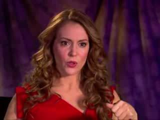 Интервью с Алисой Милано о съемках Romantically Challenged