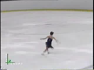 Ирина Слуцкая Показательный танец сезон 1999-2000