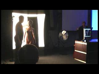 Мастер-класс. Игорь Сахаров. Рисунок светом по обнажённому телу. часть 1  (Фотофорум 2009)