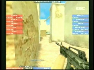 IEM IV World Championship - Counter-Strike Na`Vi vs Mousesports 3-nd map de_tusсan