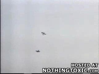 Крушение авиомодели!