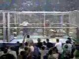 WCW Scott Hall/ Hulk Hogan/ Kevin Nash/ Sting(nWo) vs Arn Anderson/ Ric Flair/ Lex Luger/ Sting(original)