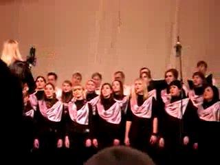Концерт Академического Хора Музыкального Колледжа им.Архангельского