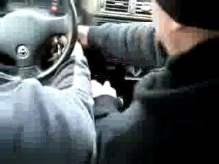 Вот так учитель вождения...Убивать за такое надо...