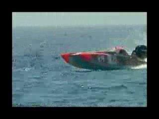 Гонки на катерах (морской катер STIHL )