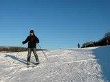 Уступите парню лыжню! )