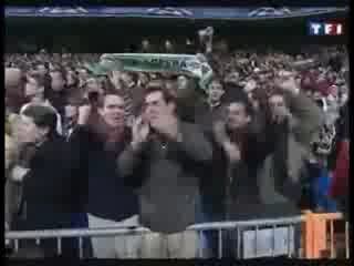 ЛЧ 2009-2010. 1/8 финала. Реал - Лион 1:1. Гол Криштиану Роналду.